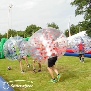 Bubblevoetbal in Eibergen